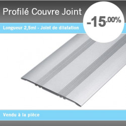 Profil couvre joint for Couvre joint carrelage