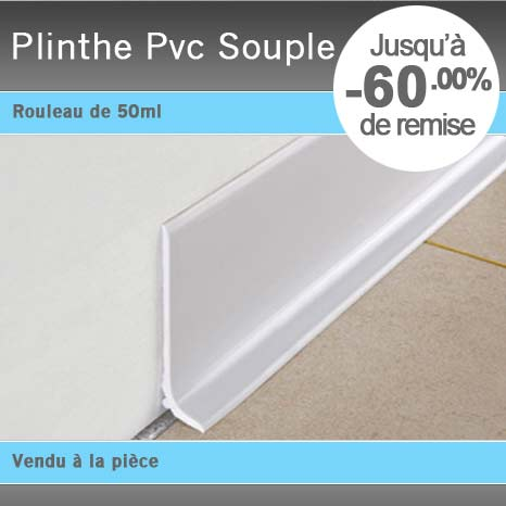 plinthe pvc souple 60 et 120 mm flexible r sine atoxique. Black Bedroom Furniture Sets. Home Design Ideas