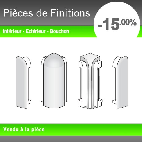 pi ces de finition plan de travail. Black Bedroom Furniture Sets. Home Design Ideas