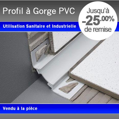 Profil plinthe gorge pvc - Plinthe a gorge ...