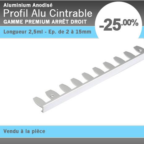 profil alu pour carrelage tous types de pvc plafond tendu film systme profils en aluminium faux. Black Bedroom Furniture Sets. Home Design Ideas