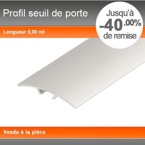 Profil Seuil De Porte Et De Rattrapage De Niveau - Www.Plinthe-Alu.Com